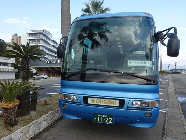 白浜彩朝楽の最寄りバス停