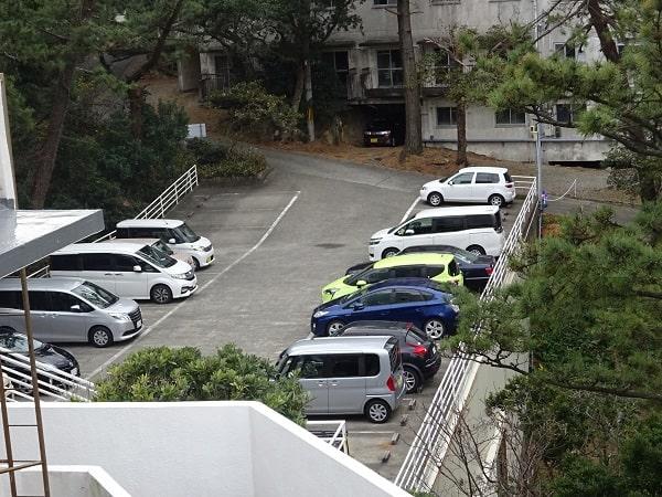 ホテル千畳駐車場