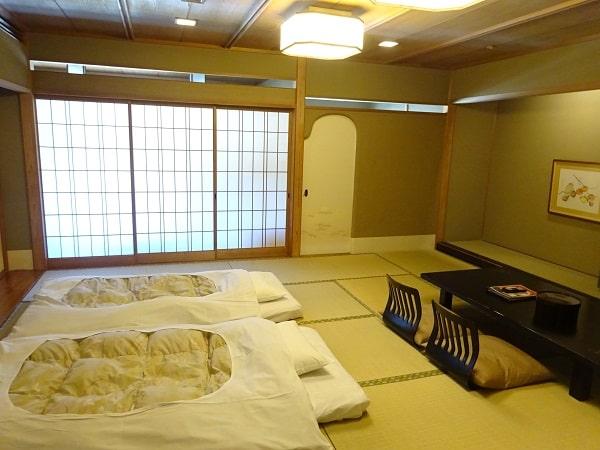 湯村温泉 三好屋のランクアップ和室