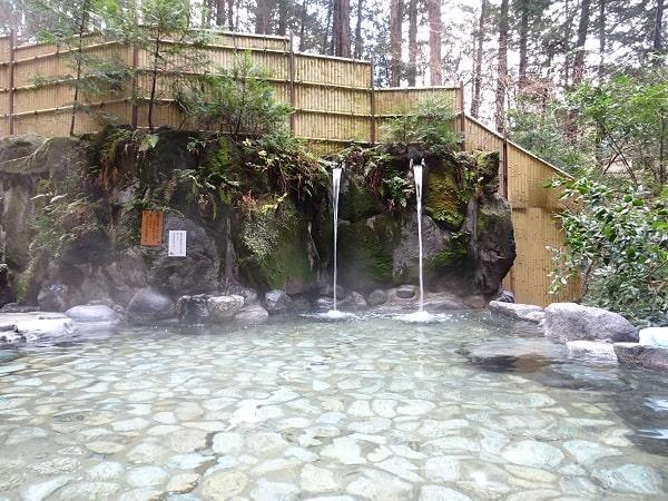 湯村温泉 三好屋の温泉