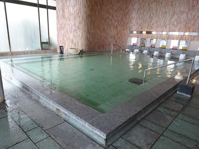 矢田屋松濤園の温泉