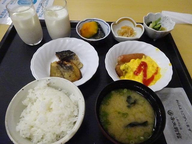 斉木別館の朝食