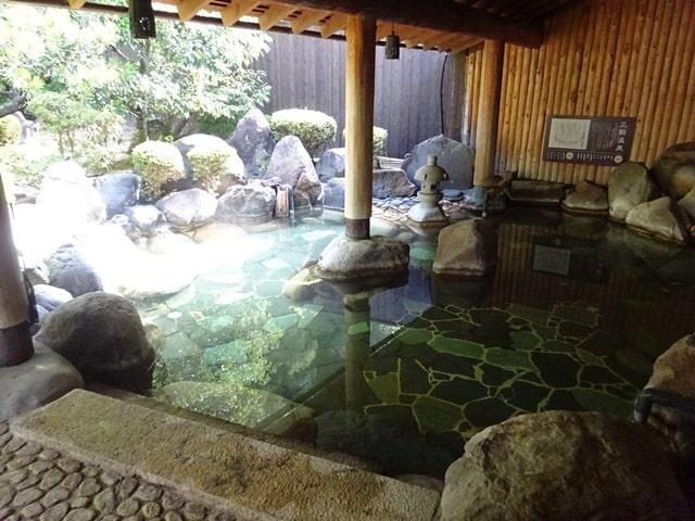 斉木別館のお風呂(温泉)