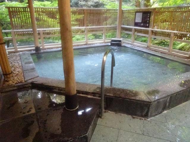 よしのや依緑園のお風呂(温泉)